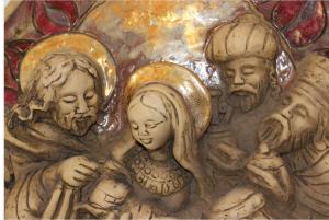 Szent család köszöntése