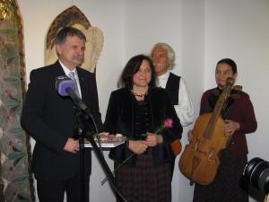 Kiállítás megnyitó az E-Galériában